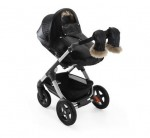 Stokke Stroller Winter Kit - black on the Trailz stroller