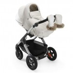 Stokke Stroller Winter Kit - white on the Trailz