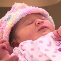 Woman Admitted To Hospital With Severe Abdominal Pain Welcomes Surprise Baby Girl!