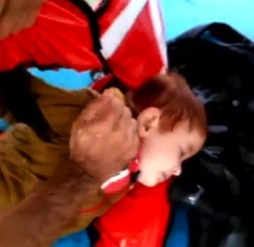 Turkish Fisherman Rescue Baby at Sea