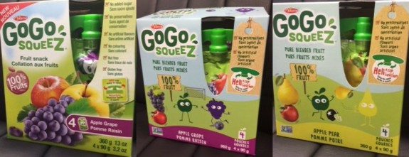 recalled go go squeez pouches