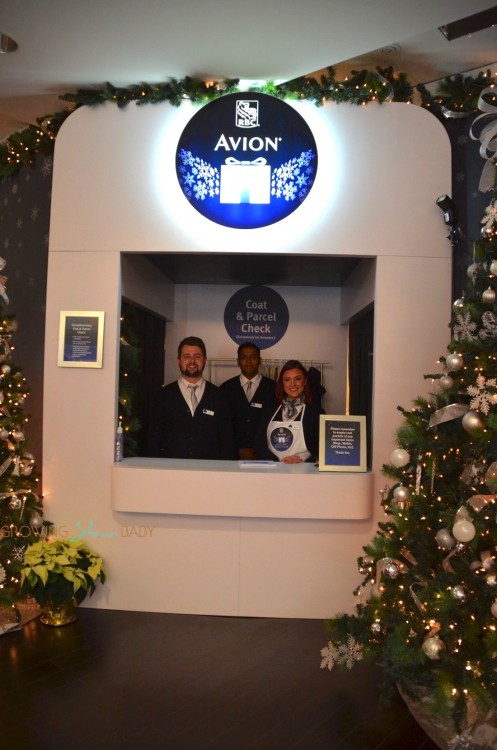 2015 RBC Avion Holiday Boutique - coat check