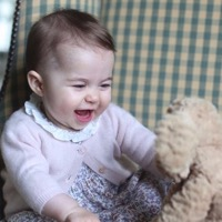 The Palace Releases Sweet New Images Of Princess Charlotte!