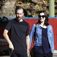 A Newly Pregnant Anne Hathaway Steps Out With Her Husband