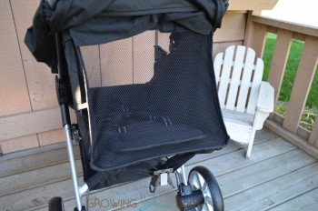 Britax B-Agile 3 - back mesh panel