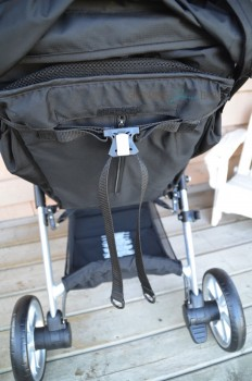 Britax B-Agile 3- seat recline lever