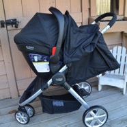Perfect For Everyday ~ Britax's B-Agile 3 Travel System {VIDEO REVIEW}