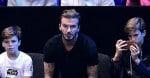 David Beckham & His Boys Support Rafael Nadal