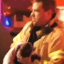 Firefighter Rescues 3-week-old Baby From Burning House