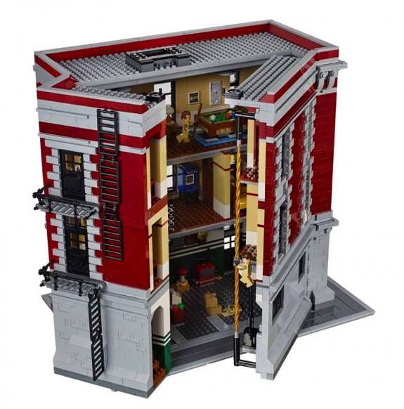 Ghostbusters Firehouse Set 75827