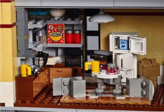 Ghostbusters Firehouse Set 75827 - kitchen