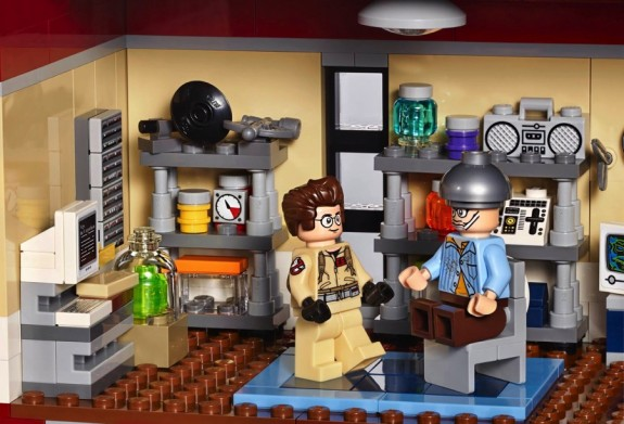 Ghostbusters Firehouse Set 75827 - lab