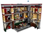 Ghostbusters Firehouse Set 75827 - open