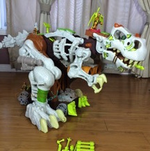 Fisher-Price's Imaginext Ultra T-Rex Stomps & Roars For Hours of Fun! {VIDEO}