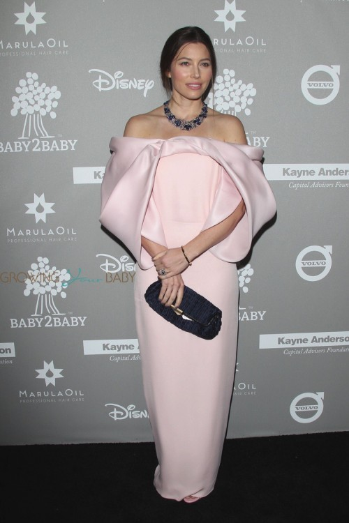 Jessica Biel at 2015 Baby2Baby Gala
