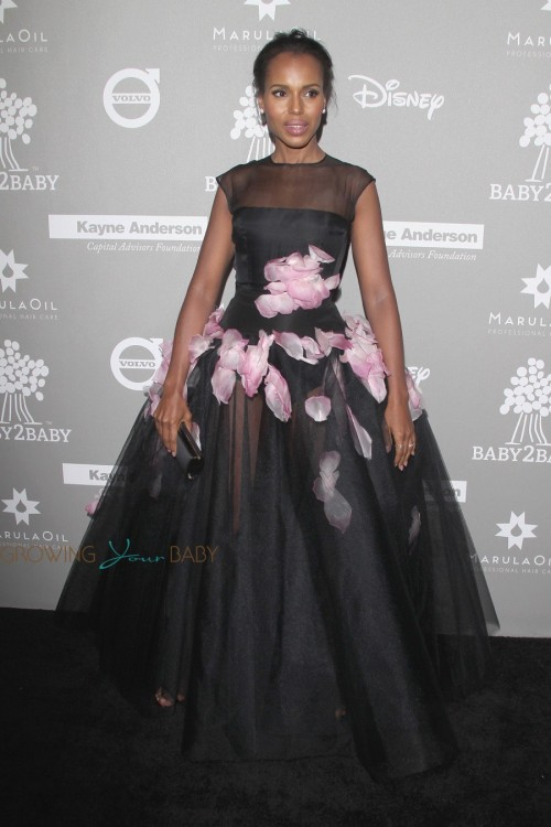 Kerry Washington at 2015 Baby2Baby Gala