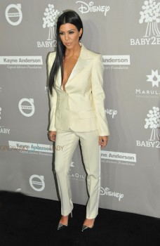 Kourtney Kardashian at the 2015 Baby2Baby Gala