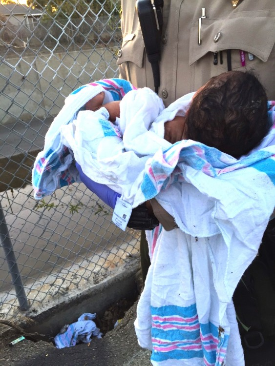 LAPD Rescues Newborn Who Was Buried Alive