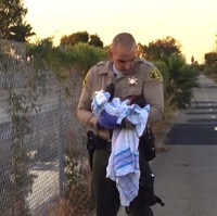 LASD Rescues Newborn Who Was Buried Alive