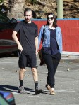 Newly pregnant Anne Hathaway and husband Adam Shulman step out in Las Angeles