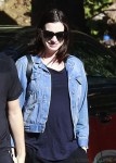 Newly pregnant Anne Hathaway steps out in LA