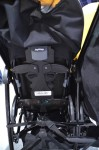 Peg Perego Pliko Mini double 2016 - back of seat