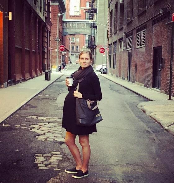 Pregnant Lauren Bush Lauren