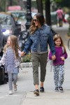 Sarah Jessica Parker does the school run with Marion & Tabitha Broderick