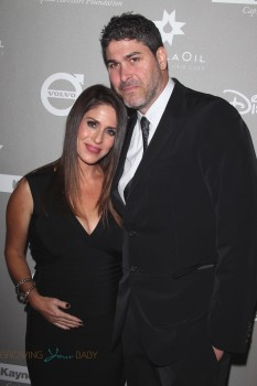 Soleil Moon Frye and Jason Goldberg at the 2015 Baby2Baby Gala