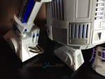 Star Wars R2-D2 Interactive Robotic Droid  - close-up