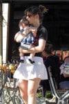 Zooey Deschanel steps out with her newborn Elsie Otter