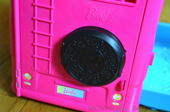 barbie pop up camper - back