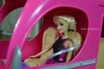 barbie pop up camper with Barbie