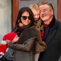 Alec And Hilaria Baldwin Shop in Madrid With Their Kids
