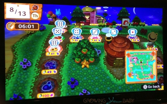Animal Crossing - amiibo Festival - game map