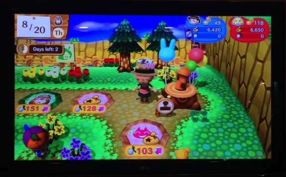 Animal Crossing - amiibo Festival - getting stamps