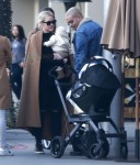 Ashlee Simpson & Evan Ross Take Jagger Out For Lunch