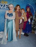 Bijou Phillips and Fianna Masterson,  at the premiere of Disney On Ice's 'Frozen' at Staples Center LA