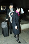 Cate Blachett arrives to LAX with daughter Edith Vivian