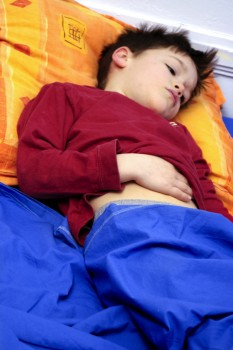 Child with appendicitis