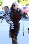 Gwen Stefani and son Apollo head to church in LA