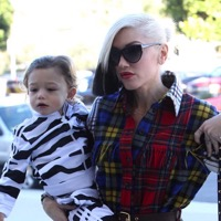 Gwen & Her Boys Leave Sunday Service