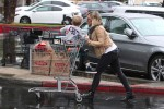 Hilary Duff shops with her son Luca in LA