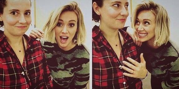 Hilary Duff with stylist cynthia vanis