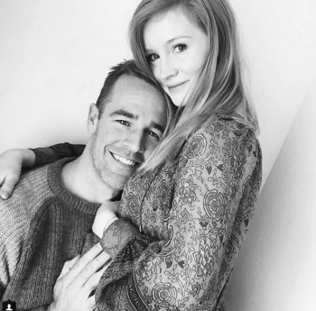 James Van Der Beek with wife Kimberly
