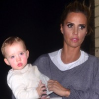 "Katie Price Steps Out With Her Daughter Bunny After Debut in ""Sleeping Beauty"""