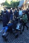 Kourtney Kardashian at Disneyland with kids Penelope and Reign Disick