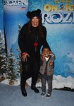Kym Whitley, Joshua Whitley at the premiere of Disney On Ice's 'Frozen' at Staples Center LA