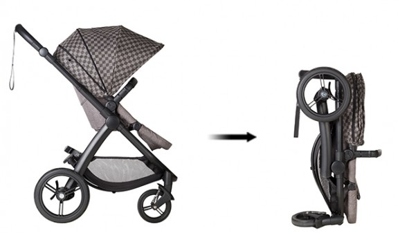 Mountain Buggy Cosmopolitan GEO - folded