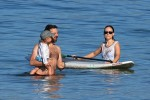 Olivia Wilde And Jason Sudeikis At The Beach In Maui with son Otis